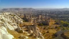 Cappadocia with my HTC phone camera (PsJeremy) Tags: turkey trkiye handphone cappadocia anatolia htc kapadokya  surreallandscape mounterciyes goremy htcone