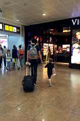 off for the weekend! (domit) Tags: isaac jay brussels airport zaventem eastpak belgium