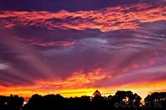 sunset 7/18/16 (Photos by Beth K) Tags: ma framigham picmonkey