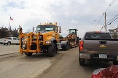NYSDOT Tupper Lake (10) (RyanP77) Tags: nysdot newyorkstatedepartmentoftransportation international mack granite plow snowplow snow larue blower dump truck dot new york viking cives henderson trucks trucking removal equipment