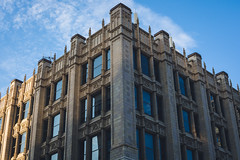 Neogothic Symmetry (anthony_wan) Tags: architecture downtown neogothic gothic symmetry building city urban toronto ontario canada queen street d5200 nikon structure