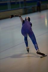 A37W6993 (rieshug 1) Tags: speedskating schaatsen eisschnelllauf skating nkjunioren knsb nkjuniorenallroundafstanden afstanden allround 50010001500massstart demeent alkmaar sportcomplexdemeent juniorenc ladies dames 500m