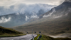 the road smell after the rain ([eyewitness]) Tags: road uk trip travel mountain nature fog canon landscape eos scotland highlands scottish roadtrip discover 2013 thehighlands canoneos60d