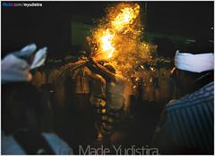 Burning Hair (Bali Freelance Photographer) Tags: life people bali nature beauty canon indonesia eos photo foto stock culture daily cultural alam budaya balinese culturalevent myudistira madeyudistira myudistiraphotography