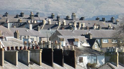 Caernarfon rooftops