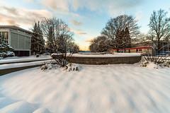 (Digital_trance) Tags: sunset snow canada vancouver sunrise landscape britishcolumbia   vancouverbc