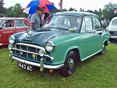 216 Morris Oxford Series III (1958) (robertknight16) Tags: oxford 1950s british morris bmc shugborough 1942ac