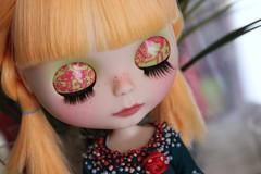 Her eyelids detail :)