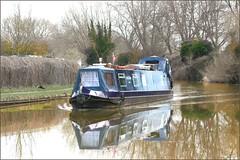 5409. (Di's Eyes) Tags: boat canal barge narrowboat refelction grandunioncanal