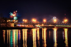 Lane Avenue Bridge (Elliotphotos) Tags: bridge columbus ohio university state fireworks bridges columbusohio elliot theohiostateuniversity ohiostate ohiostateuniversity the gilfix elliotphotos elliotgilfix