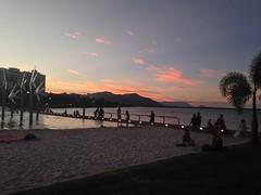 Coucher de soleil au lagoon - Cairns