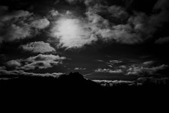 Eclipse (Read Images Photography) Tags: sky blackandwhite castle silhouette clouds scotland eclipse stirling stirlingcastle