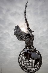 RAF memorial (alanrharris53) Tags: memorial eagle arboretum national staffordshire raf alrewas arbouretum