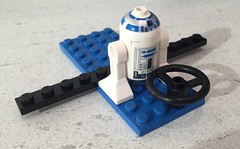 Aeroplane with R2D2
