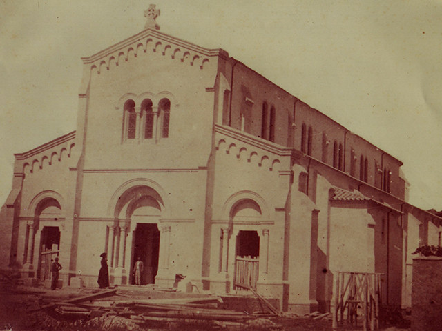 Eglise en construction