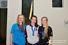 Lexie Waller, Sophie Smith, Abby Orr (scottishswim) Tags: swimming scotland aberdeenshire scottish aberdeen age groups gbr snags2015