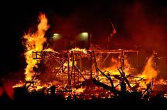 En llamas (Alejandra Valencia Ocampo) Tags: valencia nikon paisaje fuego crema vacaciones fallas falles hoguera d5100