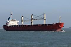 Ritthem (Therapics) Tags: sea ship freight vlissingen schip westerschelde vrachtschip rederij