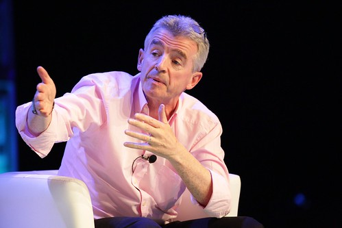 Michael O?Leary, CEO, Ryanair by World Travel & Tourism Council, on Flickr