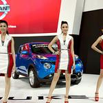 Sexy models for Nissan with the Juke at the 36th Bangkok International Motor Show thumbnail