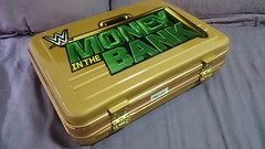 (imranbecks) Tags: money gold seth bank rollins replica 31 briefcase wwe commemorative superstore wrestlemania sheamus axxess