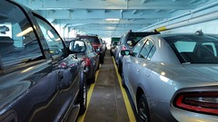 Path (Whistler Whatever) Tags: travel vacation car ferry path deck wa parked orcasisland anacortes wsdot