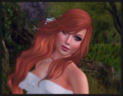 Color Play (Morrigan Outlander) Tags: closeup avatar redhead secondlife virtual frisland