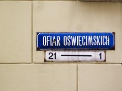 Wrocaw (isoglosse) Tags: sign streetsign poland polska schild polen sansserif wrocaw breslau znak ogonek kreska strasenschild tabliczkaznazwulicy