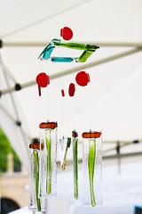 Wind Chimes 1 (SoWa Boston) Tags: artmarket glass windchimes