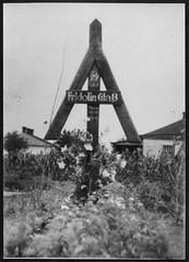 """Archiv E506 """"Fridolin Gla"""", SS Mann, Grab-Rune, (Hans-Michael Tappen) Tags: sterreich thirdreich grabmal nazigermany drittesreich ssfhrer archivhansmichaeltappen juliputsch1938 grabrune"""