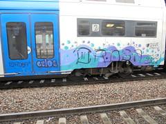 020 (en-ri) Tags: family gelo train writing torino graffiti crew nero lilla ordea gelos