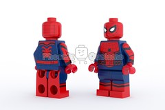 Arachnid Hero - V2 (Phoenix Custom Bricks) Tags: arachnid hero custom minif