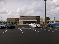 Looking again across the main parking lot (l_dawg2000) Tags: usa mississippi unitedstates eyebrow remodel ronaldmcdonald 2016 senatobia 2016remodel tatecountyms