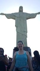 Christ the Redeemer (vbolinius) Tags: travel brazil christtheredeemer pedestal riodejaniero 2016 carolynjurek