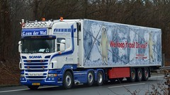 NL - C. van der Wal >Koeltrans< Scania R09 560 TL (BonsaiTruck) Tags: truck lorry camion trucks wal scania lastwagen lorries lkw lastzug r09 koeltrans