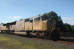 53470 (richiekennedy56) Tags: usa lawrence unitedstates kansas unionpacific sd70m railphotos up3887 douglascountyks up5145 donballcurve