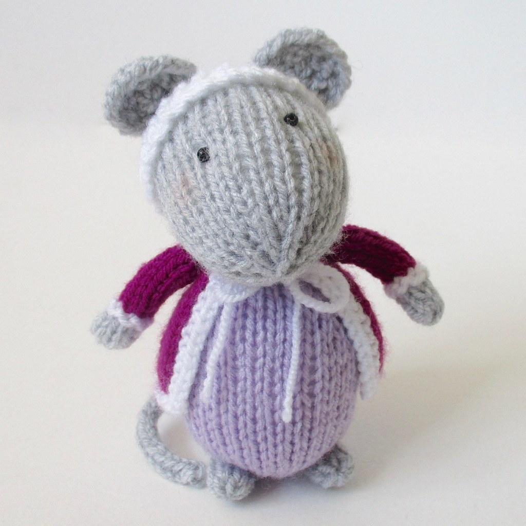 Knitting Patterns For Christmas Mice : The Worlds Best Photos of knitted and mice - Flickr Hive Mind