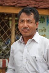 Krishna Gurung (Mark S Weaver) Tags: kathmandu nepa