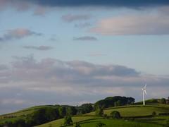 Wind turbine, Cefn Lea (Jonathan Tallon) Tags: wales scene lea windturbine platt cefn