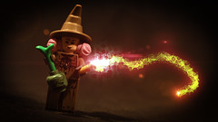 LEGO Pomona Sprout (Geertos13) Tags: plant photoshop effects lego harry potter spell teacher staff ear after editing professor custom pomona earmuffs hogwarts sprout vfx spells mandrake minifigure muffs