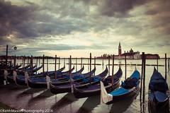 Gondolas and San Giorgio (KeithMasonPhotography (a.k.a. Scooter.john)) Tags: venice italy gondola gondolas sangiorgio 2016