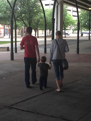 "Daddy and Mommy Walk with Paul to the Perot Science Museum in Dallas • <a style=""font-size:0.8em;"" href=""http://www.flickr.com/photos/109120354@N07/27244140314/"" target=""_blank"">View on Flickr</a>"