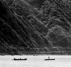 The two fishing village boats #2 (FotoGrazio) Tags: ocean people blackandwhite mountain seascape art nature water beautiful silhouette composition contrast rural landscape asian photography boat fishing photoshoot fineart philippines scenic highcontrast filipino moment photographicart minimalism capture fishingvillage socialdocumentary luzon digitalphotography pagudpud wayoflife rurallife travelphotography ilocossur pacificislanders documentaryphotography sandiegophotographer artofphotography flickrelite californiaphotographer luzonisland internationalphotographers worldphotographer photographersinsandiego fotograzio photographersincalifornia waynegrazio lifeinthephilippines waynesgrazio