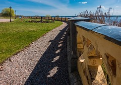 Follow along (paulius.malinovskis) Tags: sky lines architecture fairytale fence garden spring sweden sony roadtrip explore scandinavia leading sundby sdermanland hjlmaren storasundbyslott storasundbycastle