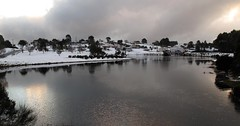 Waratah, Tasmania (paulledger81) Tags: snow waratah tasmania cold tarkine lake frozen icey