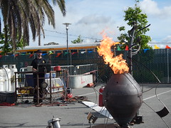 Therm at Maker Faire SF 2016 Fire Tornado (char74) Tags: maker faire san francisco therm oakland fire art fireart