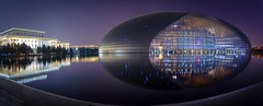 Beijing National Theatre (Werner Kunz) Tags: china camera city light urban house reflection photoshop landscape town photo nikon asia exposure cityscape dynamic angle mask time theatre wide beijing wideangle location national dynamicrange portfolio range dri hdr werner d800 blending luminosity 2015 kunz seibel exposureblending urbanlights 500px nikond800 werkunz ifttt wernerkunz