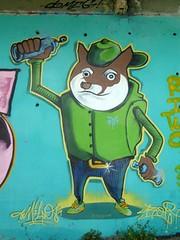 Graff in Grenoble (brigraff) Tags: streetart grenoble painting drawing spray aerosol sprayart quais isre brigraff