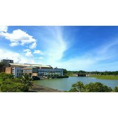 #campus #lake #sky #building #cloudyday #blue #greens #bridge #school #vsco #vscocam #lifestyle #like4like #vscogood_ #travel #trip #follow #iger #igertaiwan #iseetaiwan #seemycity #pentax #hotsummer #instadaily #instasize #instaday #ins (S) Tags: trip travel bridge blue school sky lake building collage campus pentax lifestyle follow greens hualien cloudyday  hotsummer iger vsco instadaily instaday seemycity vscocam like4like instasize vscogood instalikers iseetaiwan igertaiwan