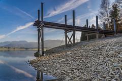Low Water Forggensee (dirkboldrini) Tags: forggensee lowwater allgu fssen bavaria niedrigwasser landsape